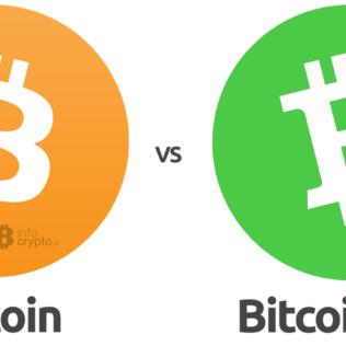 Rok później: Porównanie Bitcoin z Bitcoin Cash