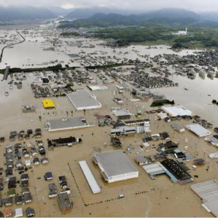 Binance zebrało ponad 410 000 $ dla ofiar powodzi w Japonii