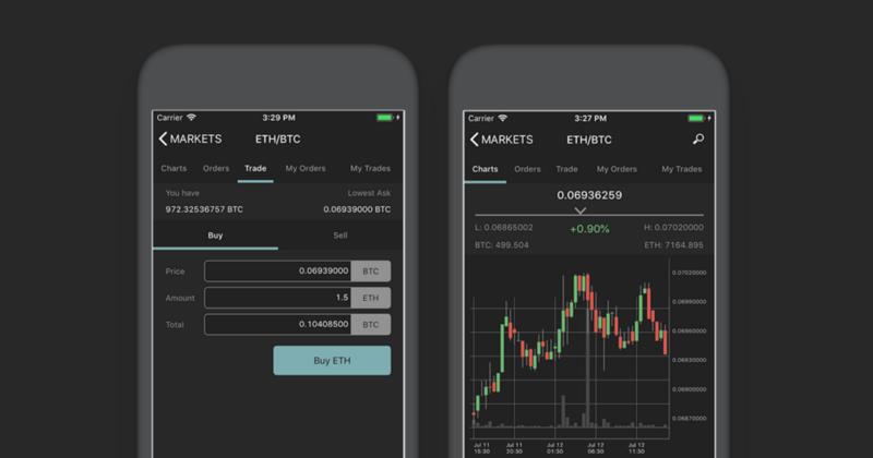 Poloniex wydaje aplikację mobilną
