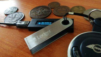 Ledger Nano S obsługuje 8 nowych kryptowalut