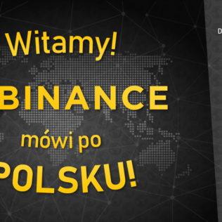 Giełda Binance nareszcie dostępna w języku polskim!
