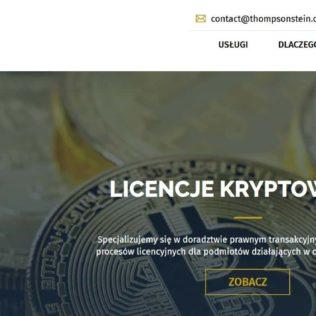 Prawnik za Bitcoiny? Kancelaria Thompson & Stein dodaje opcję płatności BitBay Pay
