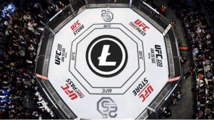 Litecoin został oficjalnym sponsorem gali UFC