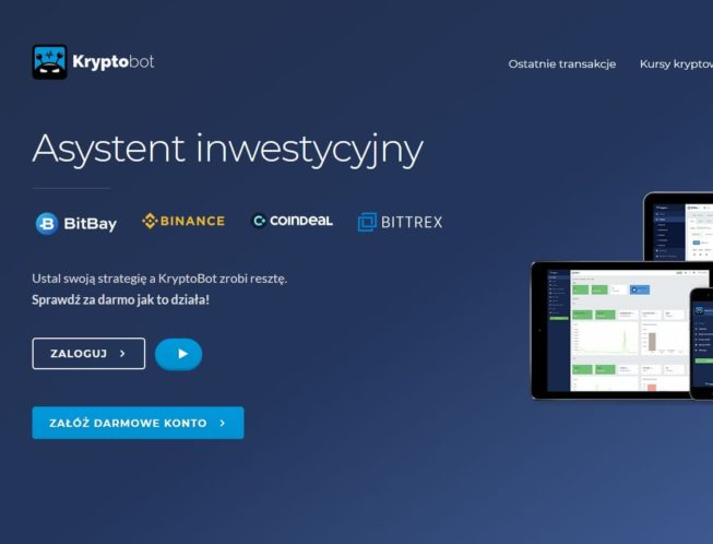 Kryptobot – Automat do kryptowalut na BitBay i Binance