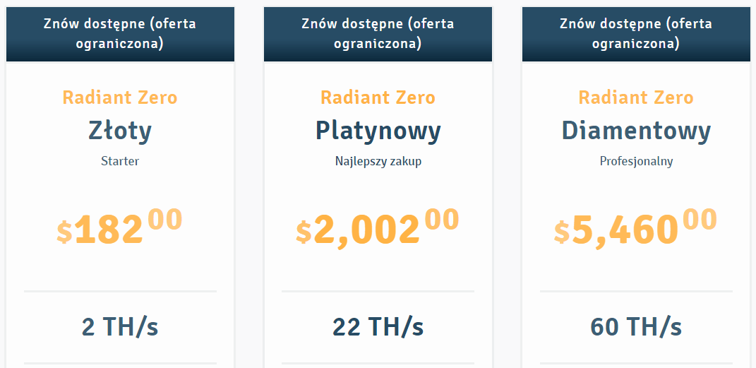 cloud mining ile kosztuje